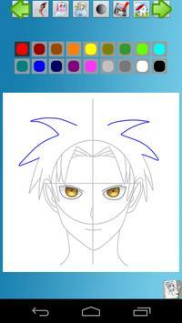 How to Draw Manga Anime screenshot 5