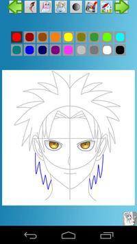 How to Draw Manga Anime screenshot 6