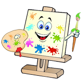 Paint and Coloring icon