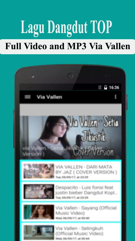 dangdut via vallen mp3 terbaru