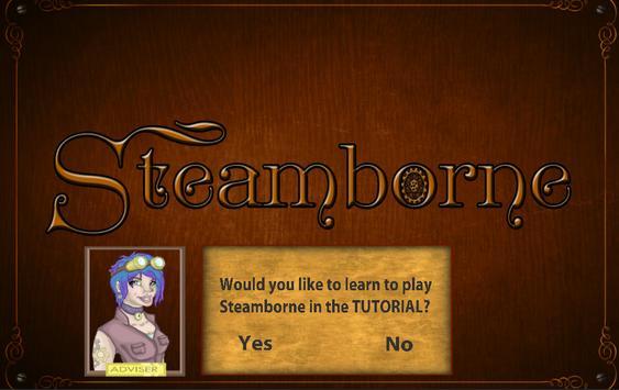 Steamborne poster