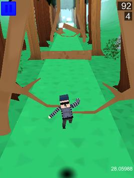 Runaway escape 3D : Infinite Runner apk screenshot