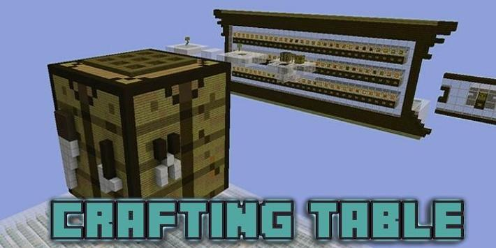 Mod Working Crafting Table For Mcpe For Android Apk Download