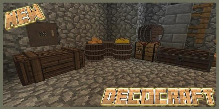 Mod DecoCraft for MCPE screenshot 1