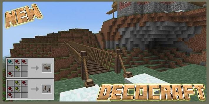 Mod DecoCraft for MCPE screenshot 2