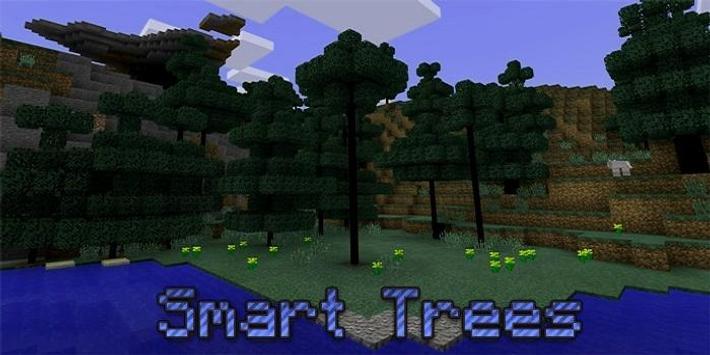 Smart Trees mod poster