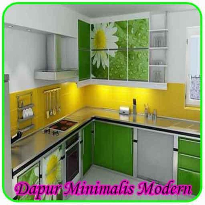 Dapur Minimalis Modern Poster Screenshot 1