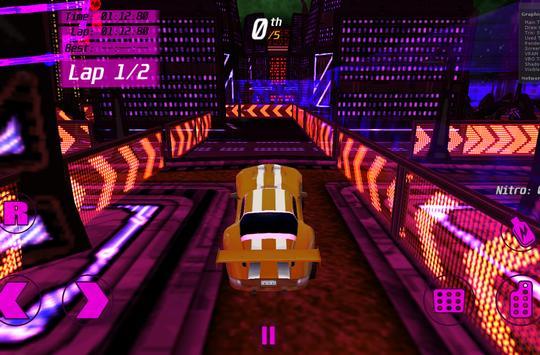 Speedy 3D Sport Car Racer Demo screenshot 2