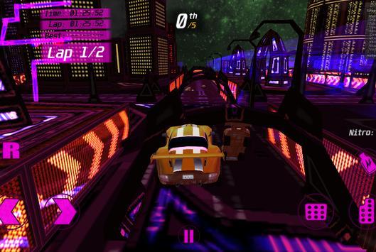 Speedy 3D Sport Car Racer Demo screenshot 3