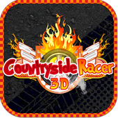 country side racer 3d FREE icon