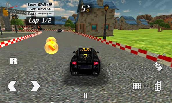 country side racer 3d FREE screenshot 3