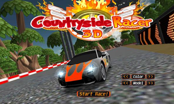 country side racer 3d FREE screenshot 11