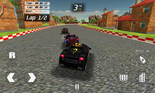 country side racer 3d FREE screenshot 5