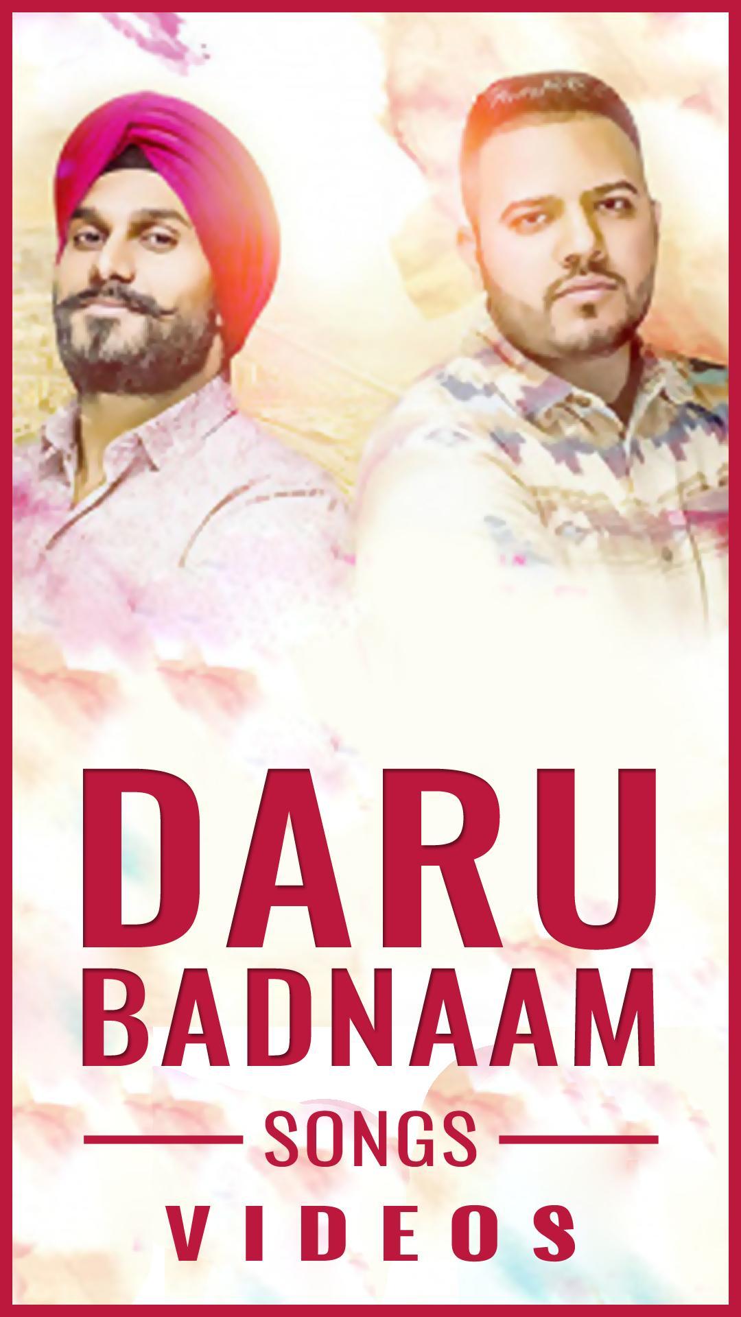 ✨ Badnaam punjabi song remix mp3 download | Daru Badnaam (Remix