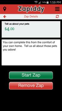Zapiddy Microjobs apk screenshot