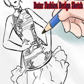 Datar Fashion Design Sketch icon