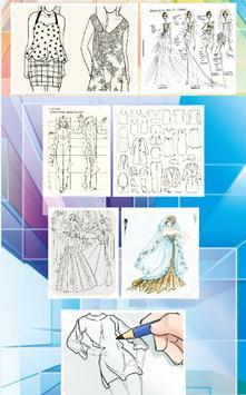 Datar Fashion Design Sketch apk screenshot