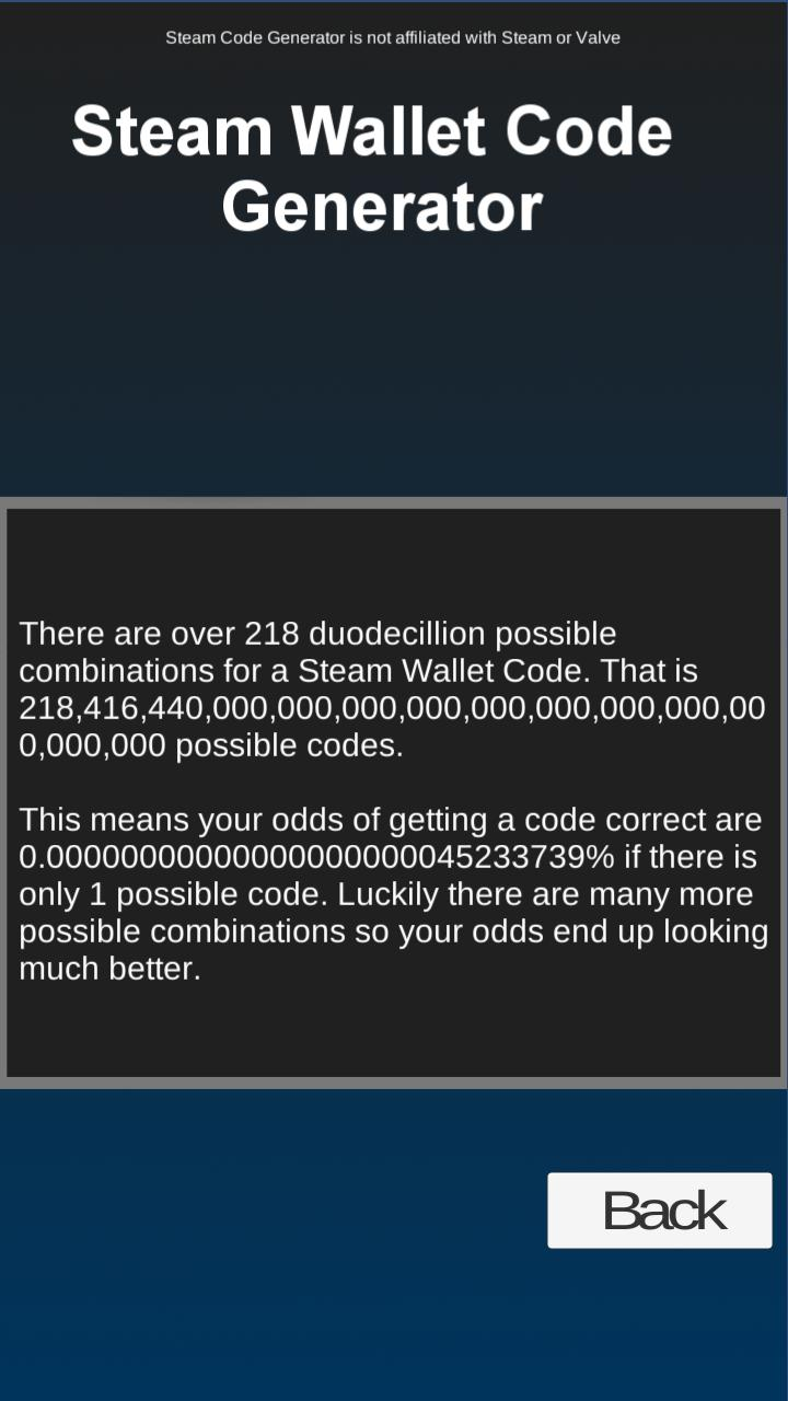 Steam Wallet Code Generator for Android - APK Download
