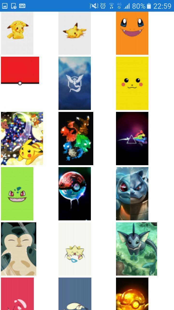 Pokemon Wallpaper Imagens De Fundo Pokemon для андроид