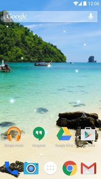 Tropical Beach Live Wallpapers apk screenshot