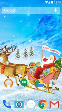 Xmas Live Wallpapers apk screenshot