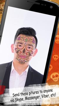 Day Of The Dead Photo Editor apk screenshot