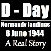 D-Day Normandy landings - Book icon