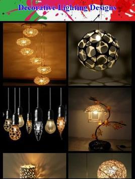 Decorative Lighting Designs poster