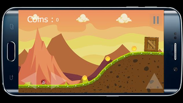 Red Ball Space Adventure apk screenshot