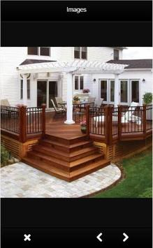 Decking Design Ideas screenshot 1
