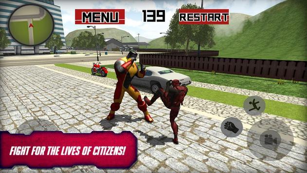 Dead boolean Superhero 3D screenshot 5