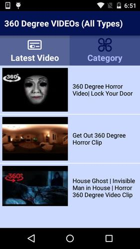 360 Degree VIDEOs (All Types) for Android - APK Download