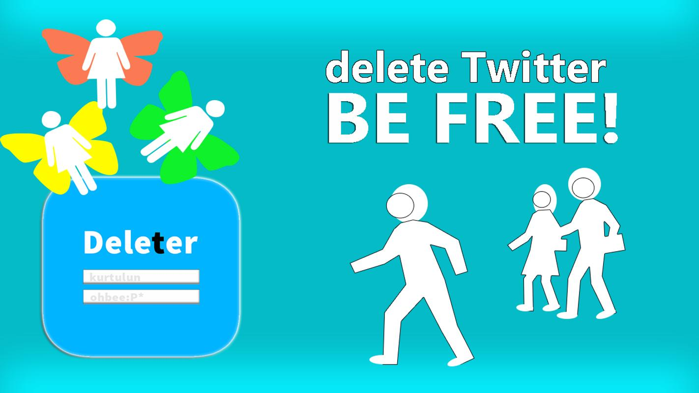 how to delete your twitter account permanently on iphone