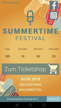 Summertime Festival poster