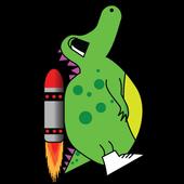 Rocketsaur icon