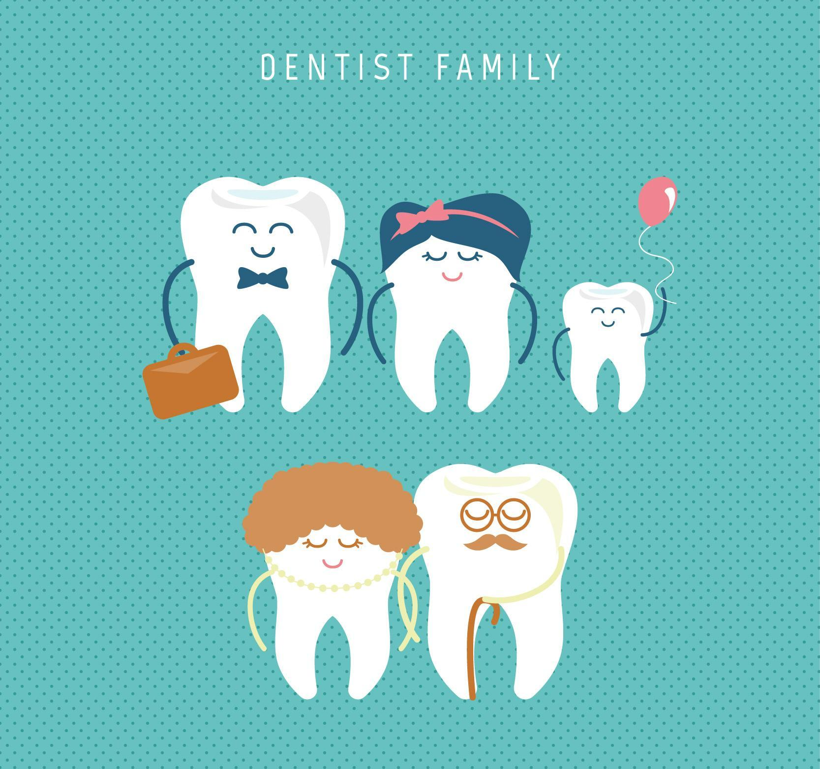 Cute Dental Family Care Wallpaper For Android Apk Download