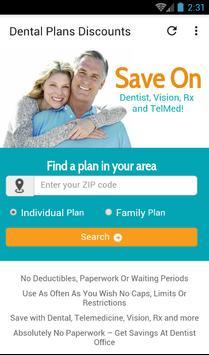 Dental Plans Discount poster