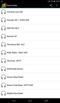 Denver Radio screenshot 1
