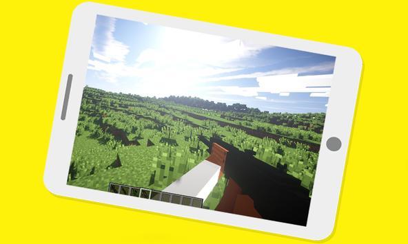 DesnoGuns Mod For Minecraft PE poster