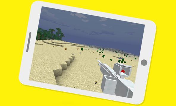 DesnoGuns Mod For Minecraft PE screenshot 1