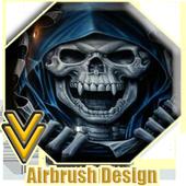 Airbrush Design icon