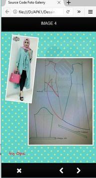 Desain Baju Muslim apk screenshot