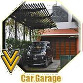 Car Garage Design icon