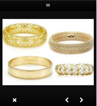 Design gold bracelet screenshot 3