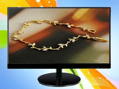 Gold Necklace Design screenshot 5