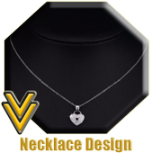 Gold Necklace Design icon