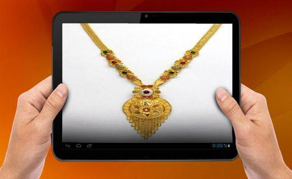 Gold Necklace Design screenshot 2