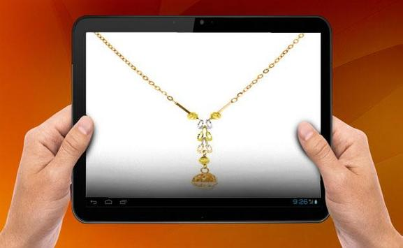 Gold Necklace Design apk screenshot