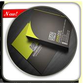 Name Card Design Brochures icon