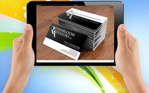 Name Card Design Brochures screenshot 3